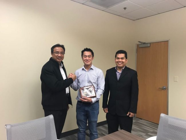 Telin CTO (Nanang Hendarmo) and Telin USA CEO (Joseph Raja) Visits Wowrack USA Headquarter in Seattle, WA